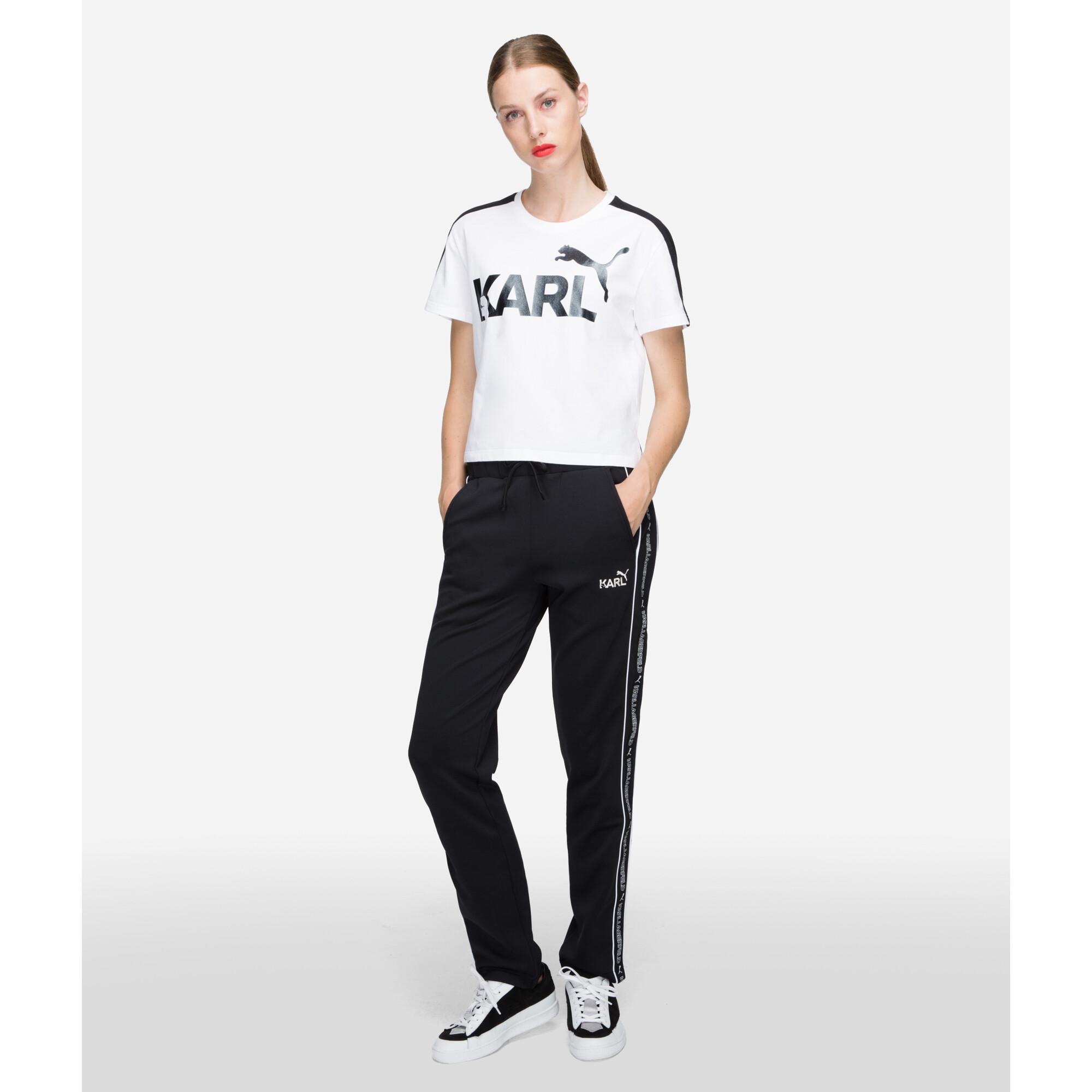 Image Puma PUMA x KARL LAGERFELD T7 Women's Tight Sweatpants #1