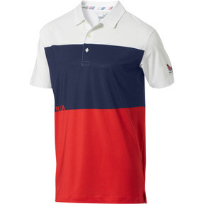 14a530e391e Volition Ck6 America Polo, High Risk Red, medium. Shop Now