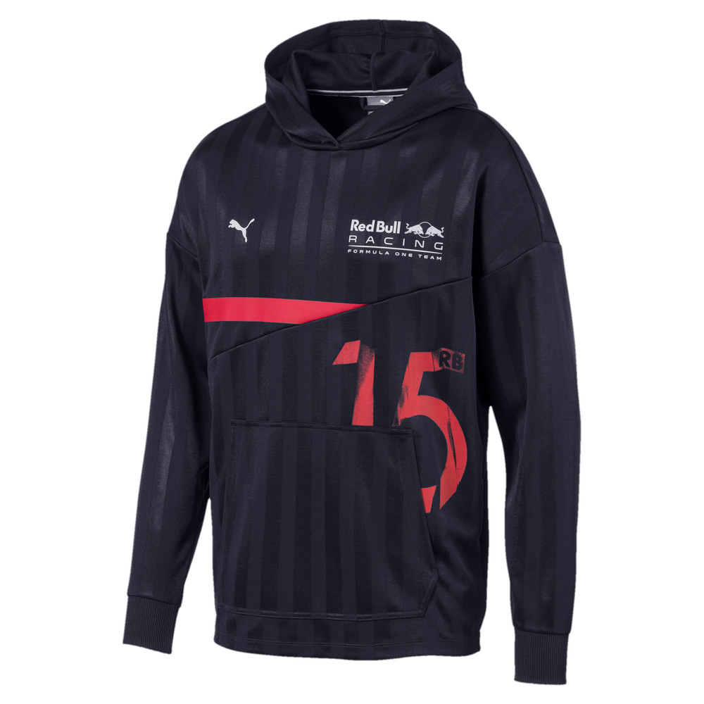 Image Puma Red Bull Racing Lifestyle Men's Hooded Midlayer #1