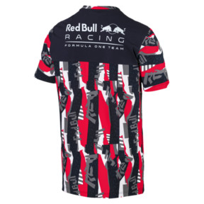 Thumbnail 5 of Red Bull Racing Lifestyle All-Over Printed Men's Tee, Chinese Red, medium