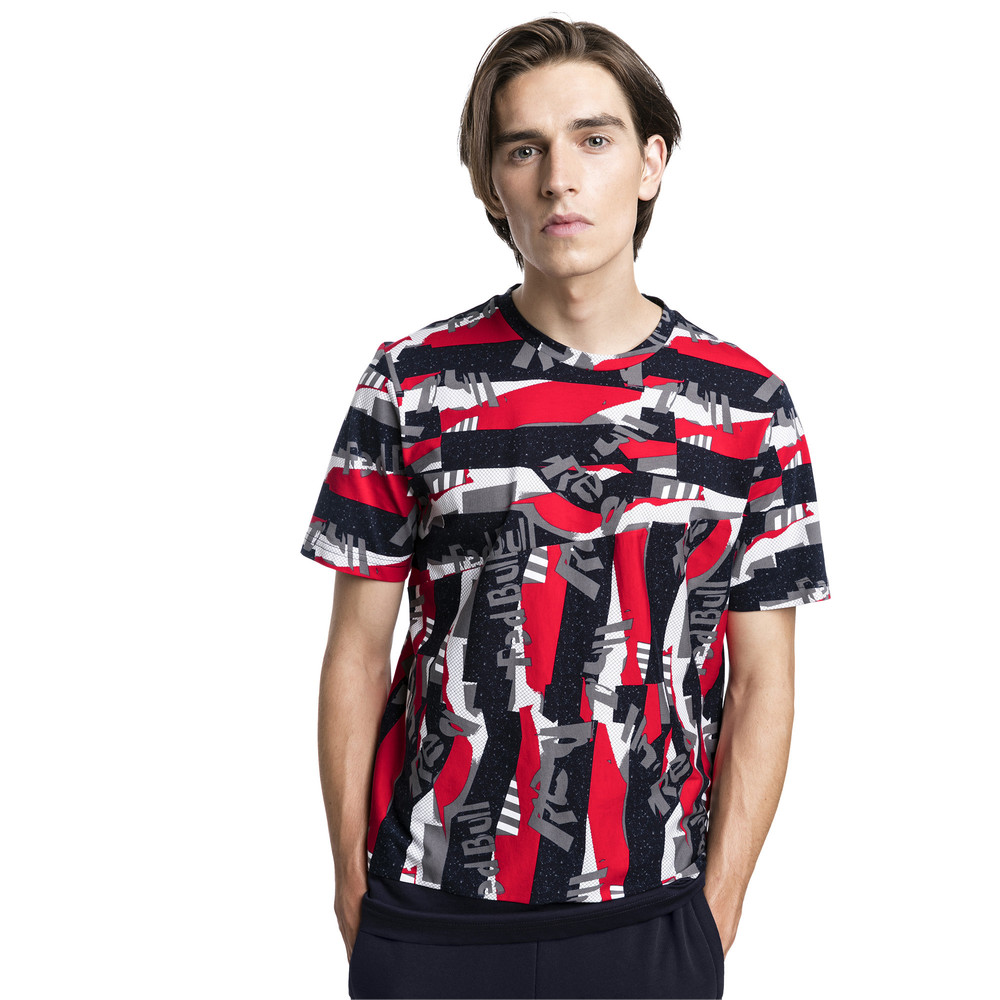 Image PUMA Red Bull Racing Lifestyle All-Over Printed Men's Tee #2
