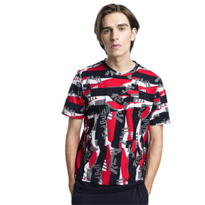 Thumbnail 1 of T-Shirt Red Bull Racing Lifestyle Allover-Print pour homme, Chinese Red, medium