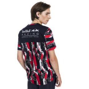 Thumbnail 2 of Red Bull Racing Life AOP Tee, Chinese Red, medium