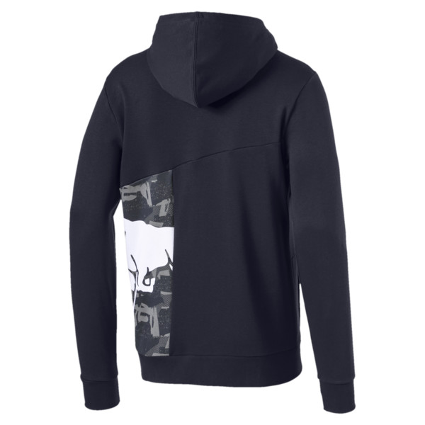 Red Bull Racing Double Bull Men's Hoodie, NIGHT SKY, large