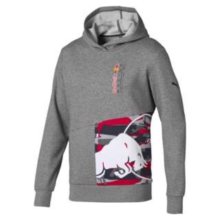 Görüntü Puma RED BULL RACING Double Bull Kapüşonlu Erkek Sweatshirt