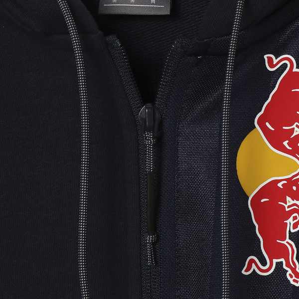 RED BULL RACING ロゴ フーデッド スウェット ジャケット, NIGHT SKY, large-JPN
