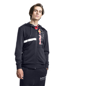 Thumbnail 1 of Red Bull Racing Hooded Men's Sweat Jacket, NIGHT SKY, medium