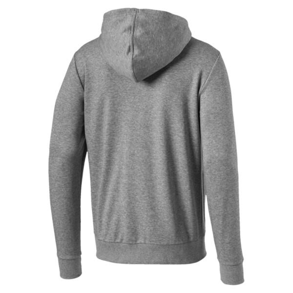 Red Bull Racing Logo Men's Hooded Sweat Jacket, Medium Gray Heather, large