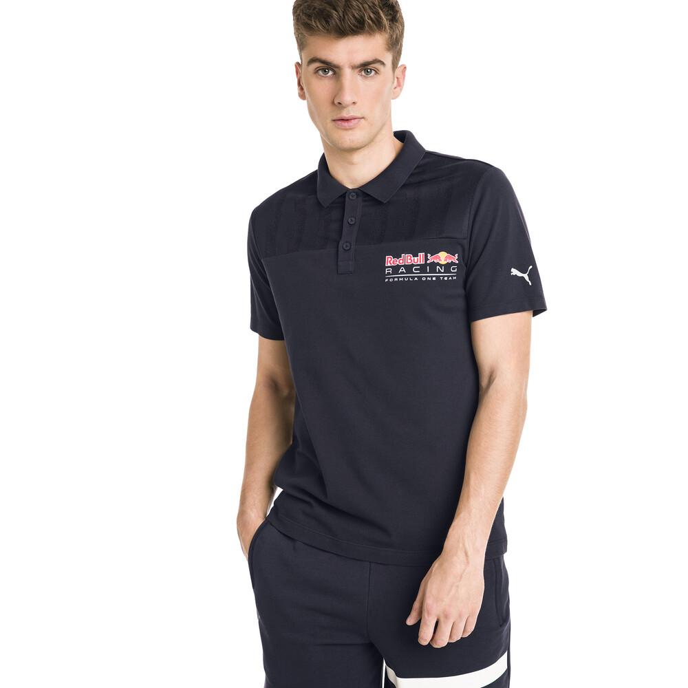 Image Puma Red Bull Racing Short Sleeve Men's Polo Shirt #2