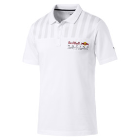 Thumbnail 4 of Red Bull Racing Short Sleeve Men's Polo Shirt, Puma White, medium