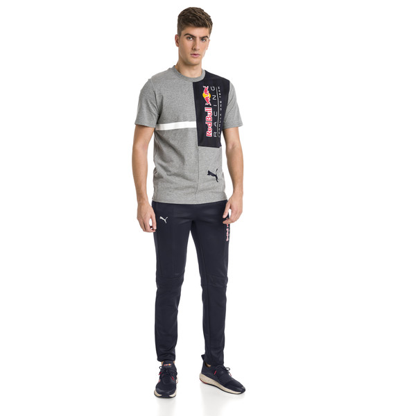 Red Bull Racing Men's Tee, Medium Gray Heather, large