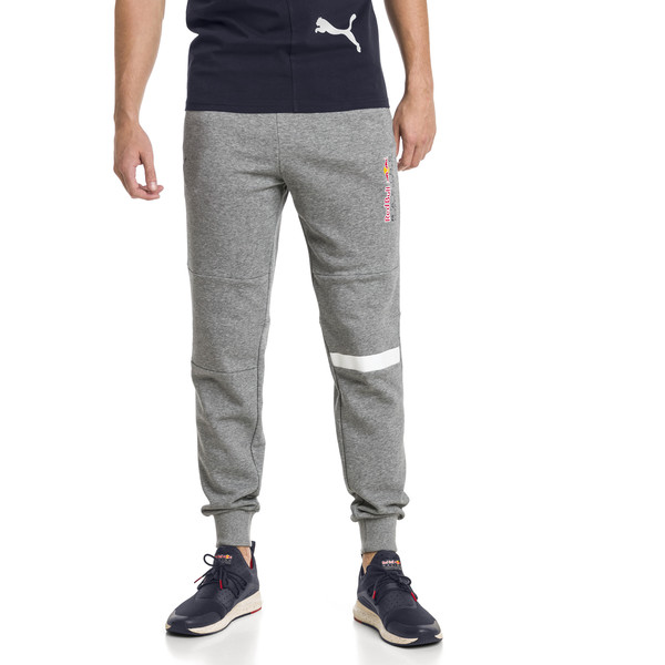 Red Bull Racing sweatpants voor mannen, Medium Gray Heather, large