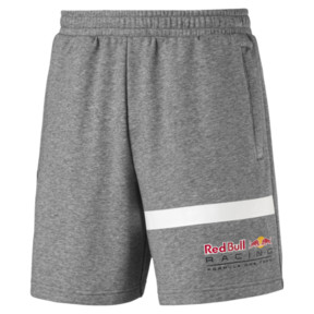 Thumbnail 4 of Red Bull Racing Logo Men's Sweat Shorts, Medium Gray Heather, medium