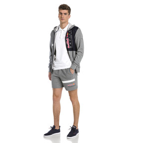 Thumbnail 3 of Red Bull Racing Logo Men's Sweat Shorts, Medium Gray Heather, medium