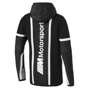 Thumbnail 5 of BMW M Motorsport evoKNIT Herren Unterjacke, Puma Black, medium