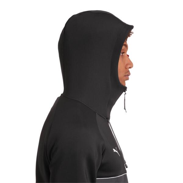 BMW M Motorsport Life Men's Sweat Jacket, Puma Black, large