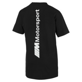 Thumbnail 4 of BMW M Motorsport Life Men's Tee, Puma Black, medium