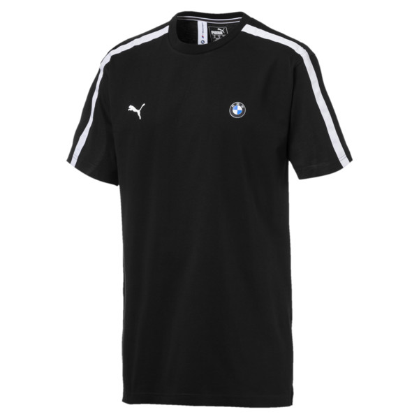 BMW M Motorsport Life Men's Tee, Puma Black, large