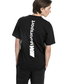 Thumbnail 3 of BMW M Motorsport Life Men's Tee, Puma Black, medium