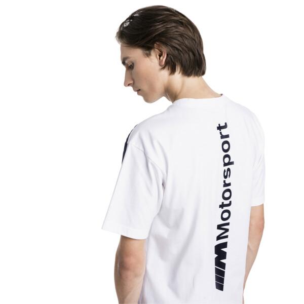 BMW MMS Life Men's Tee, Puma White, large