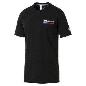 Thumbnail 4 of BMW M Motorsport Lifestyle Men's Graphic Tee, Puma Black, medium