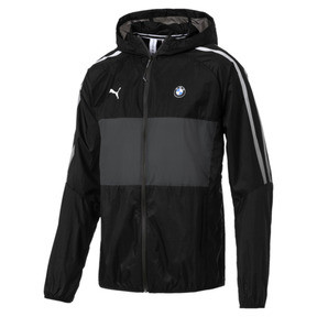 Thumbnail 4 of BMW M Motorsport T7 City Runner Men's Jacket, Puma Black, medium