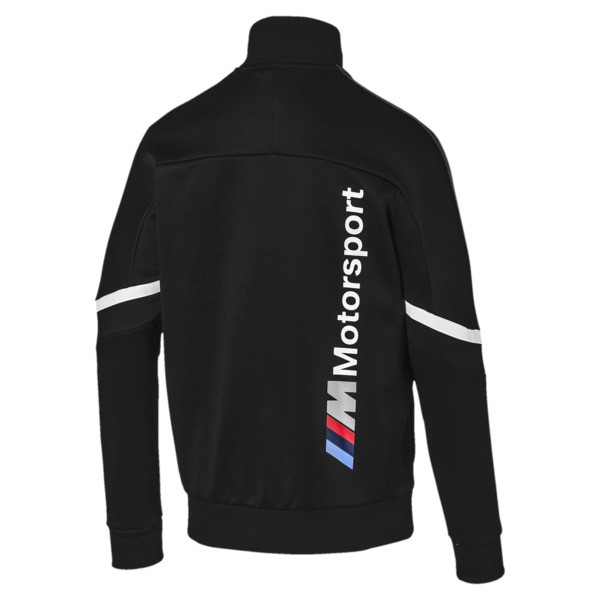 BMW M Motorsport Men's T7 Track Jacket, Puma Black, large