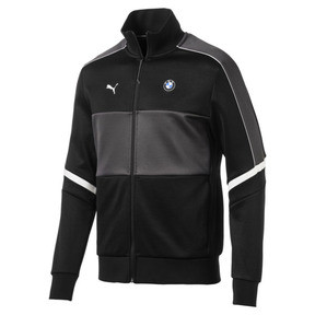 Thumbnail 1 of BMW M Motorsport T7 Men's Track Jacket, Puma Black, medium