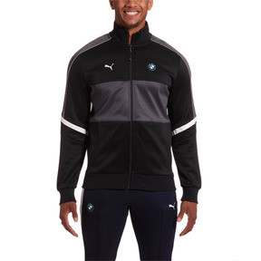 Thumbnail 1 of BMW M Motorsport Men's T7 Track Jacket, Puma Black, medium