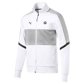 Thumbnail 1 of BMW M Motorsport T7 Men's Track Jacket, Puma White, medium
