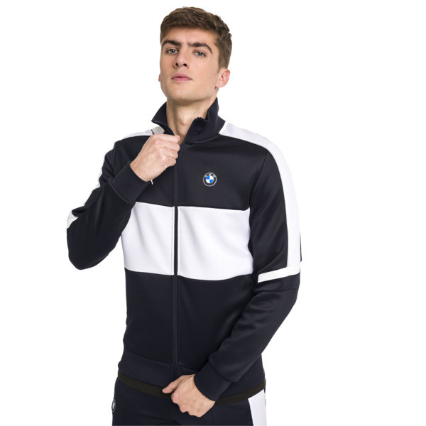 BMW M Motorsport T7 Men's Track Jacket, Team Blue, large