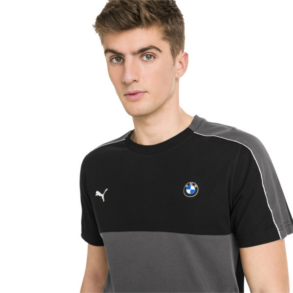 BMW M Motorsport T7 Herren T-Shirt, Puma Black, large
