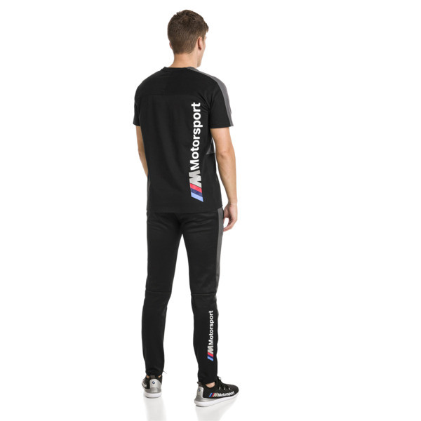 BMW M Motorsport T7 Men's Tee, Puma Black, large