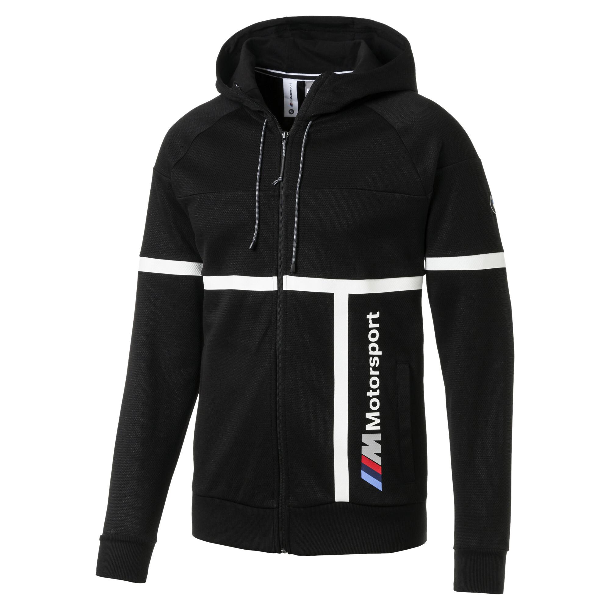 Image Puma BMW M Motorsport Hooded Men's Sweat Jacket #4
