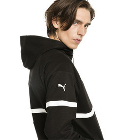 Thumbnail 2 of BMW M Motorsport Herren Kapuzen-Sweatjacke, Puma Black, medium