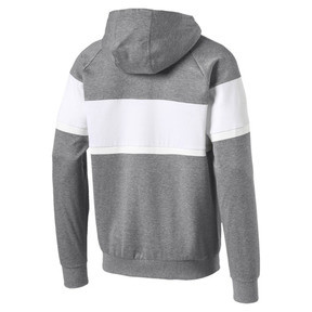 Thumbnail 4 of BMW MMS Men's Hooded Sweat Jacket, Medium Gray Heather, medium