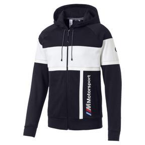 Thumbnail 2 of BMW MMS Men's Hooded Sweat Jacket, Team Blue, medium
