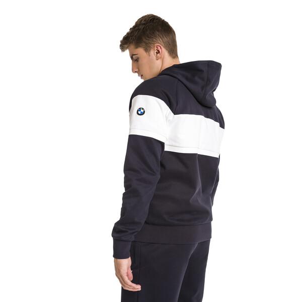BMW M Motorsport Hooded Men's Sweat Jacket, Team Blue, large