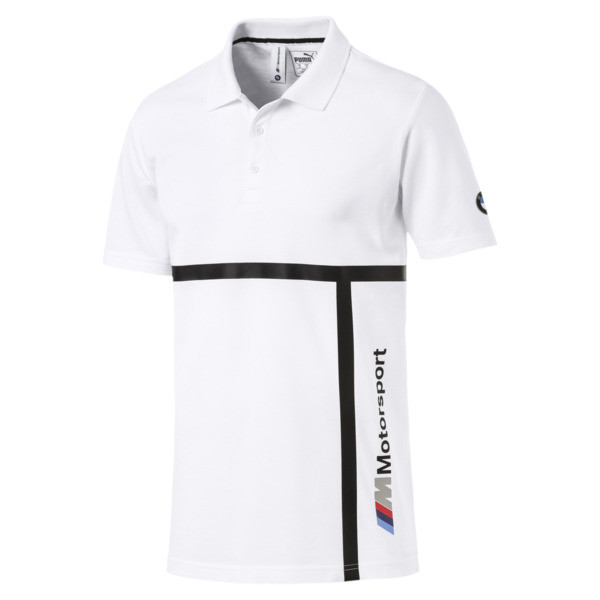 Polo BMW M Motorsport pour homme, Puma White, large