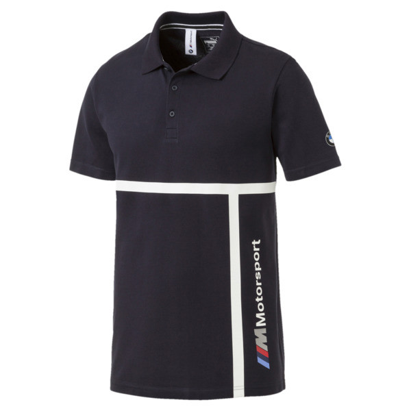 BMW Motorsport Men's Polo Shirt, Team Blue, large