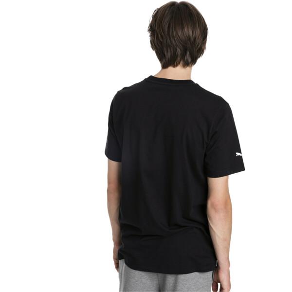 BMW Motorsport T-shirt met korte mouwen voor mannen, Puma Black, large