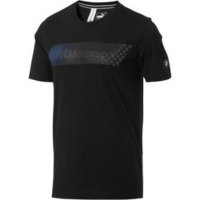 Thumbnail 1 of BMW M Motorsport Men's Logo Tee +, Puma Black, medium