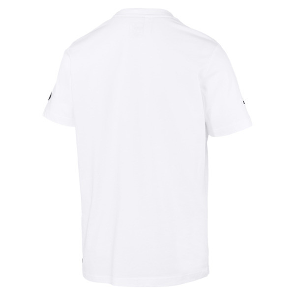 Camiseta con logo de hombre BMW M Motorsport, Puma White, grande