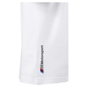 Thumbnail 4 of BMW M Motorsport Logo Men's Tee, Puma White, medium