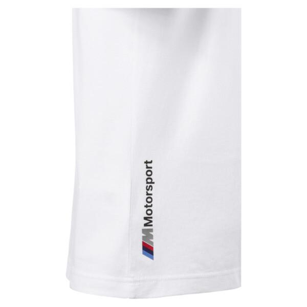 BMW M Motorsport Logo Men's Tee, Puma White, large