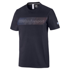Thumbnail 1 of BMW M Motorsport Logo Herren T-Shirt, Team Blue, medium