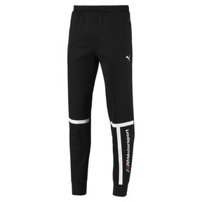Thumbnail 4 of BMW Motorsport Knitted Men's Sweatpants, Puma Black, medium
