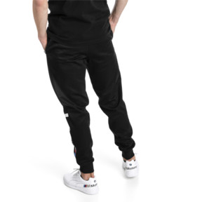 Thumbnail 2 of BMW Motorsport Knitted Men's Sweatpants, Puma Black, medium