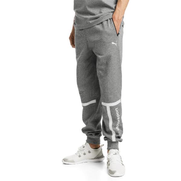 BMW MMS Men's Sweatpants, Medium Gray Heather, large