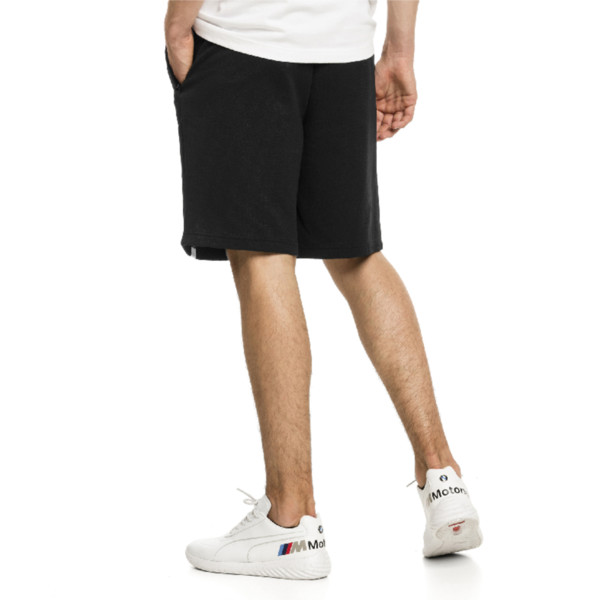 BMW Motorsport Men's Sweat Shorts, Puma Black, large